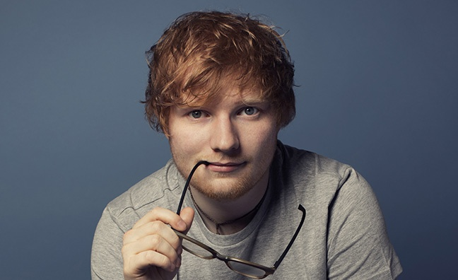 Ed Sheeran's ÷ passes 3 million sales landmark