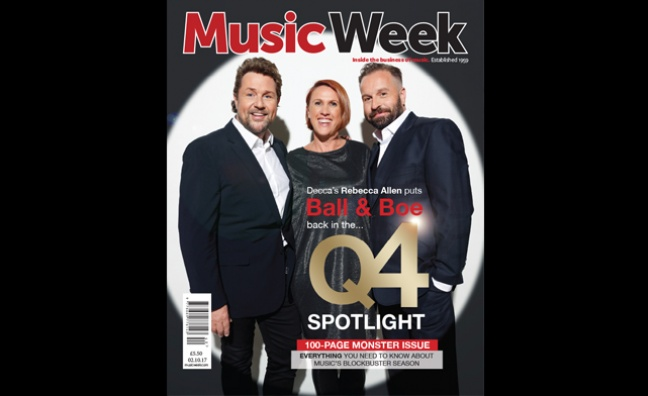 New special Q4 edition of Music Week out now