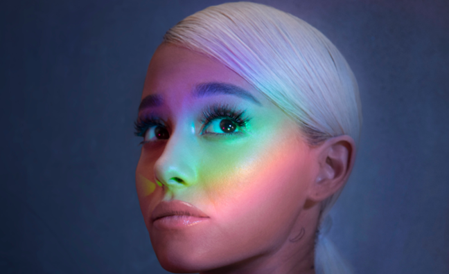Ariana Grande eyes Top 5 with God Is A Woman