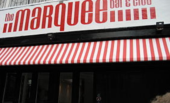 The Marquee Club to be resurrected for special event