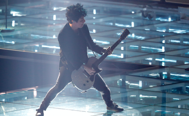 Green Day slam 'horrendous' US election as they scoop MTV EMA Global Icon Award