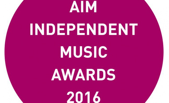 Entries now open for AIM Independent Music Awards 2016