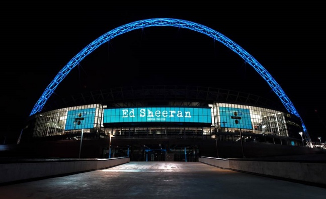Wembley Stadium gears up for Ed Sheeran's return