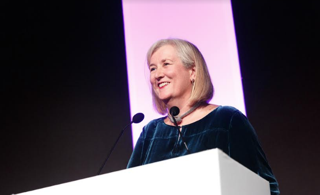 'Thanks for the cider': Jane Dyball's Music Week Women In Music Awards speech in full
