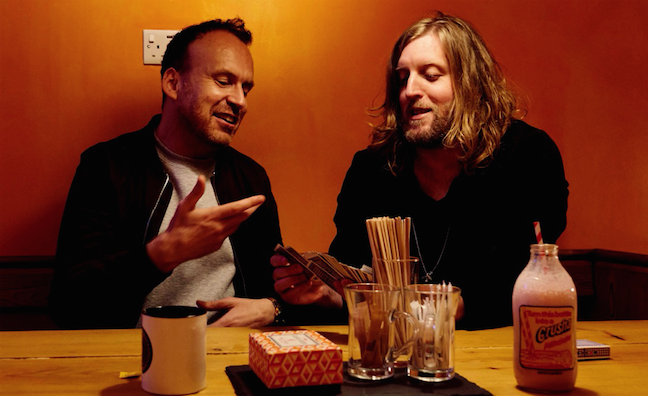 Andy Burrows signs four-album deal with Fiction Records