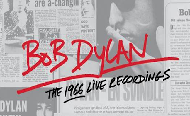 Columbia/Legacy to release Bob Dylan's 1966 concerts as a 36-CD box-set