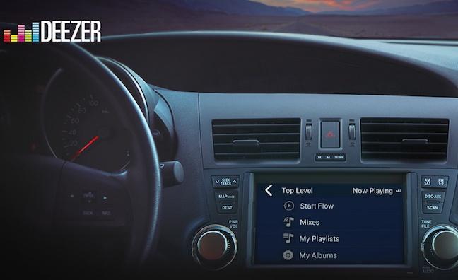 deezer appears in cars with mirrorlink digital music week. Black Bedroom Furniture Sets. Home Design Ideas