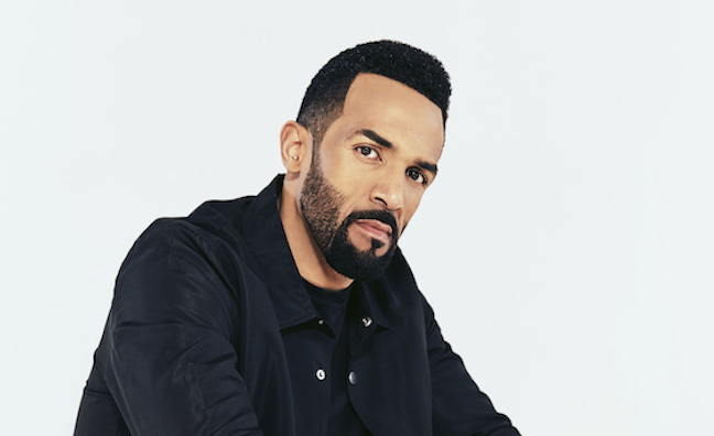 Craig David chases The Greatest Showman in albums race