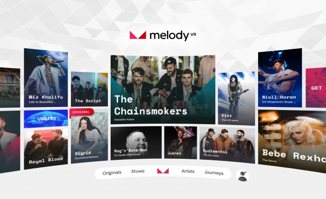 MelodyVR app launches in the UK