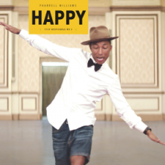 Official Charts Analysis: Pharrell Williams hits No.1 with 106k sales