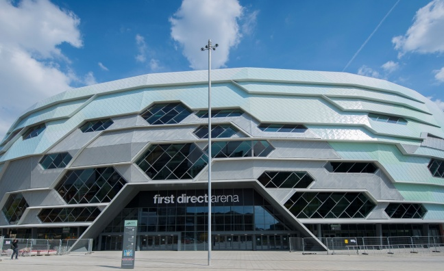 Leeds arena extends naming rights deal with First Direct