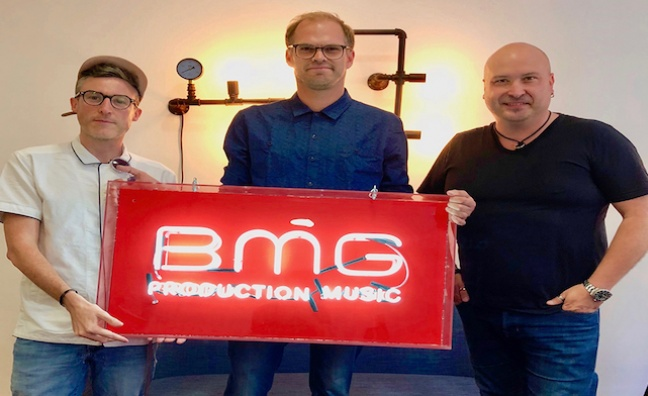 BMG Production Music acquires UK's Deep East Music and France's Tele music