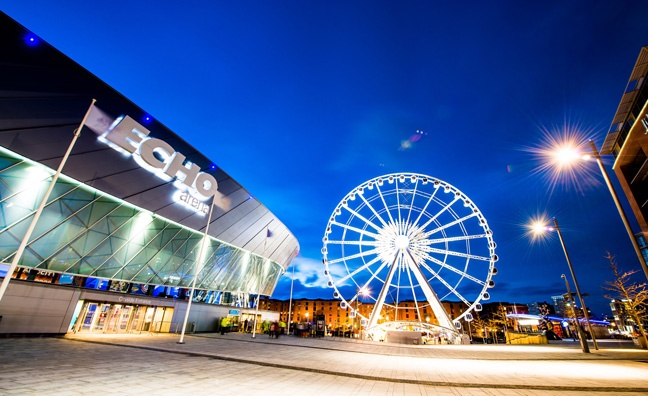 Liverpool Echo Arena operator brings in creative agency ahead of 10th anniversary