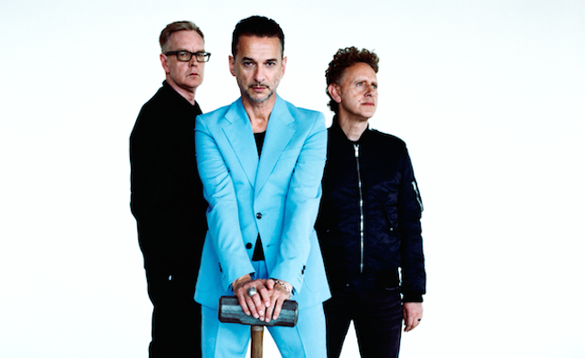 Depeche Mode, Tupac and Kraftwerk among nominations for Rock & Roll Hall Of Fame