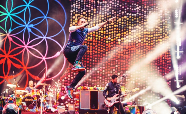 Coldplay's A Head Full Of Dreams Tour becomes third highest grossing tour in history