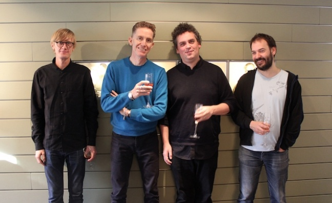 Simian Mobile Disco sign with Warner/Chappell