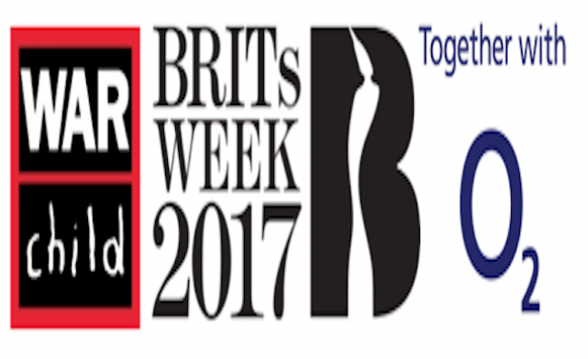 BRITs Week With War Child Together With O2 announce 2017 charity fundraising total