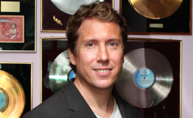 Mark Fry appointed managing director of Warner Music Finland