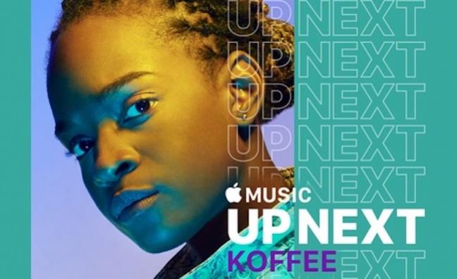 Koffee's break: Apple Music backs rising reggae star