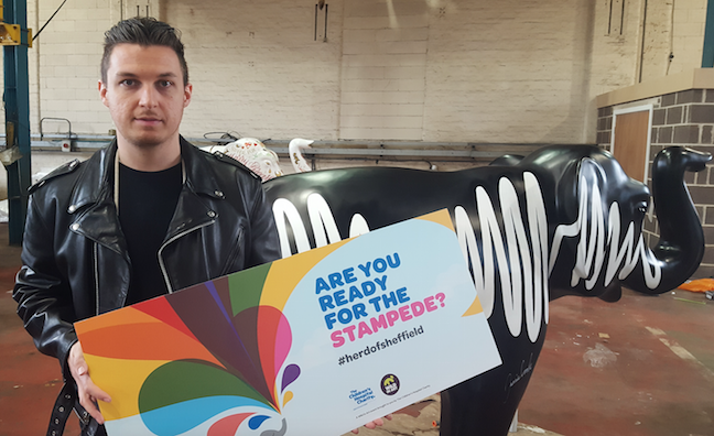 Signed Arctic Monkeys elephant statue to be auctioned for Sheffield children's hospital