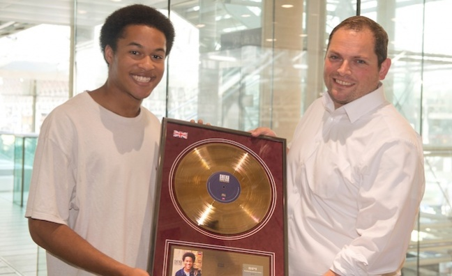 Sheku Kanneh-Mason receives BRIT Certified Breakthrough Award