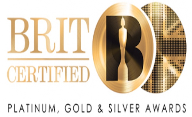 BPI rebrands platinum, gold and silver discs as BRIT Certified Awards