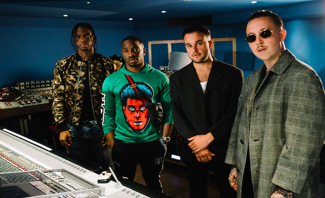 Hennessy and Abbey Road Studios pairs Slaves with Krept & Konan