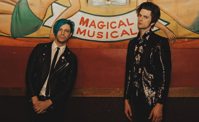 Panic! At The Disco's Dallon Weekes signs side project to Fearless Records