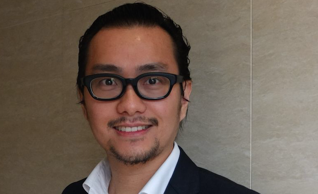 Warner Music China appoints Jackson Wong MD