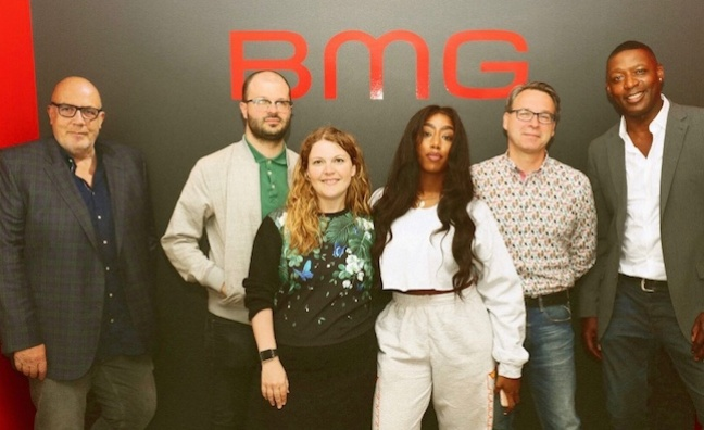 'Her hit rate is outstanding': Camille Purcell signs long-term BMG deal