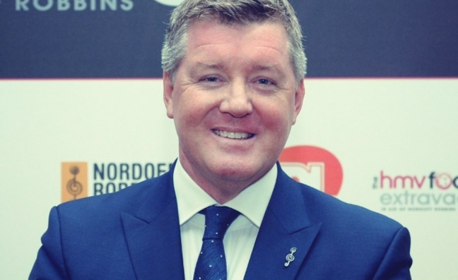 Sky Sports' Geoff Shreeves to take over as chairman of Nordoff Robbins fundraiser
