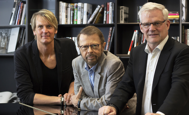 'Björn Ulvaeus is one of the industry's leading visionaries': PRS For Music partners with Auddly