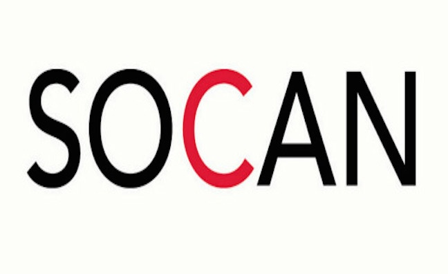Canada's SOCAN posts record revenues in 2016