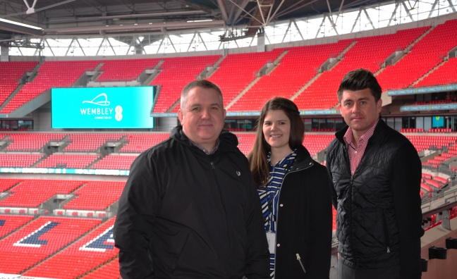 Wembley Stadium confirms managerial appointments