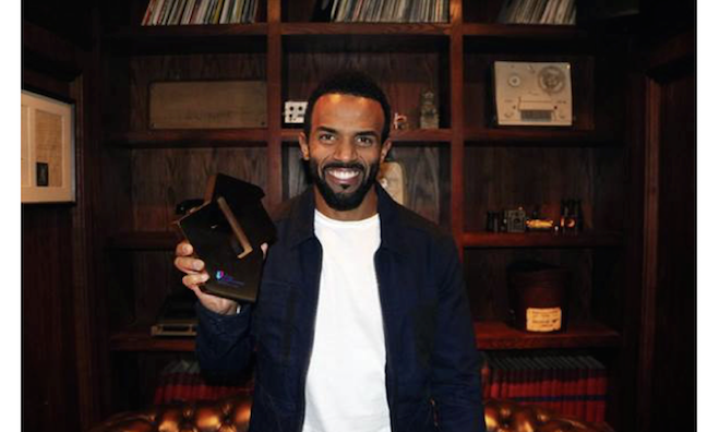 Craig David reaches No.1 with Following My Intuition