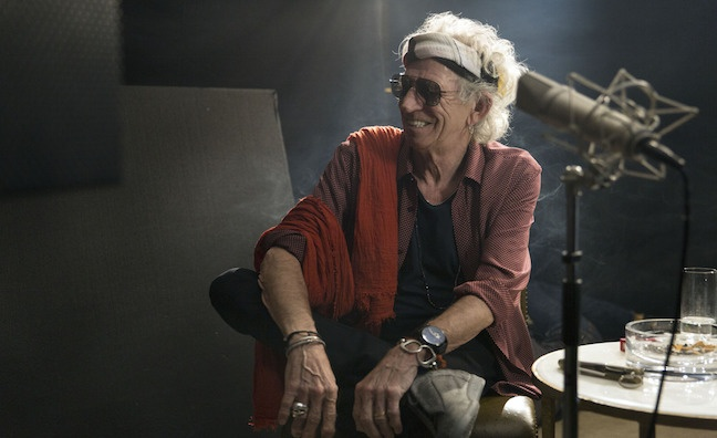 Keith Richards to take over BBC Four for an entire weekend