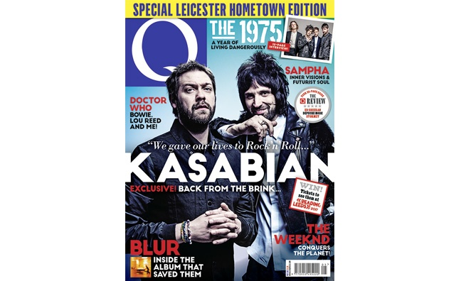 Q Magazine to publish a special 'regional' edition of their world exclusive Kasabian cover