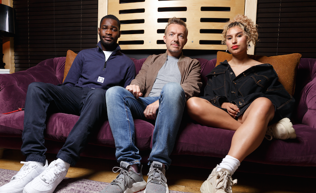 'He's vital': Next gen stars Dave and Raye on their bond with Fraser T Smith