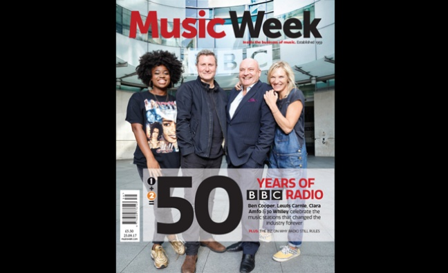 New-look edition of Music Week out now