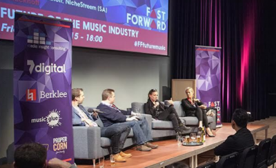Music and tech conference Fast Forward to return in 2017