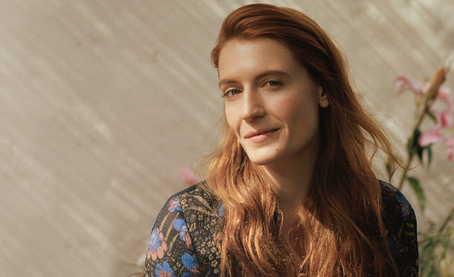 International charts analysis: Florence + The Machine set for chart battle with Drake