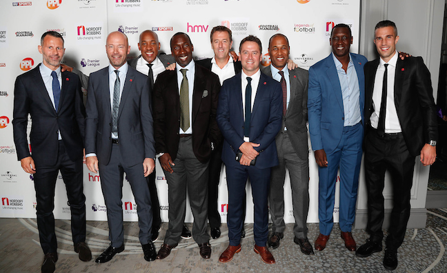 Legends of Football event raises over £404k for Nordoff Robbins