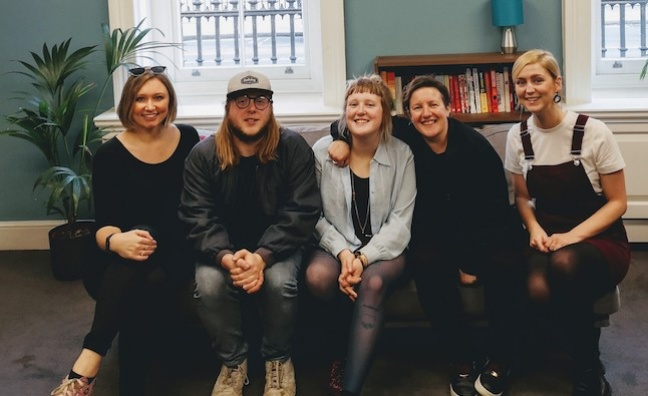 'We were looking for a band that write youthful, exuberant indie songs': Faber Alt signs Penelope Isles