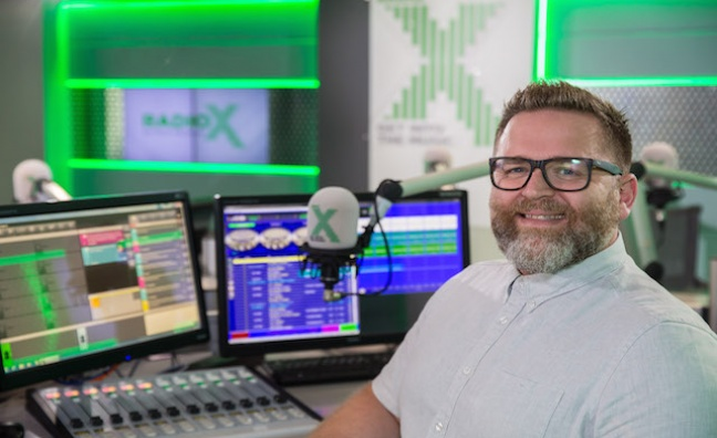 Chris Baughen departs Radio X