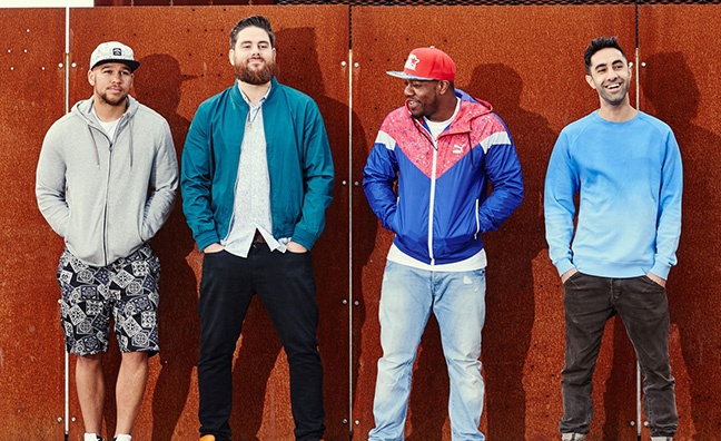 Rudimental eye singles chart Top 3 with These Days