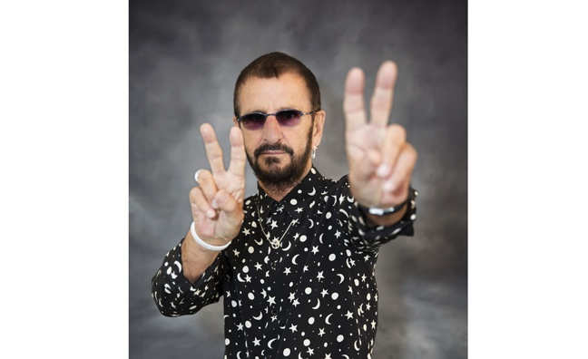 Ringo Starr signs worldwide publishing deal with BMG
