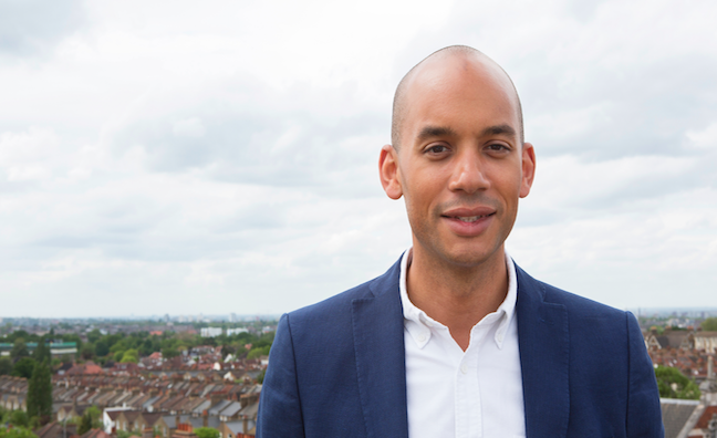 Chuka Umunna appointed PRS for Music Foundation Ambassador