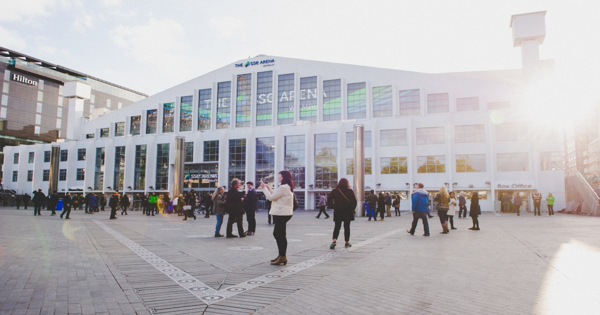The SSE Arena, Wembley toasts bumper 2018