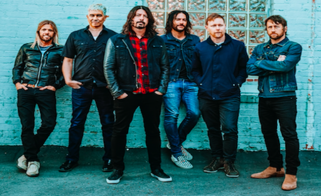 Foo Fighters conquer Glastonbury with incendiary Pyramid Stage set