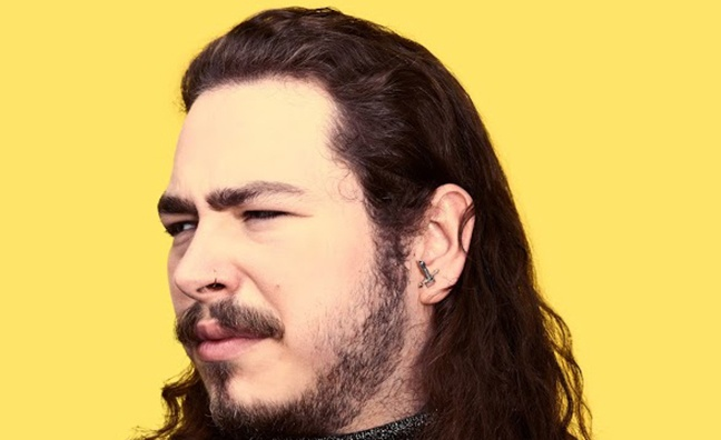 'Post Malone could be a very significant artist in 2018': Island Records MD on following up smash hit Rockstar